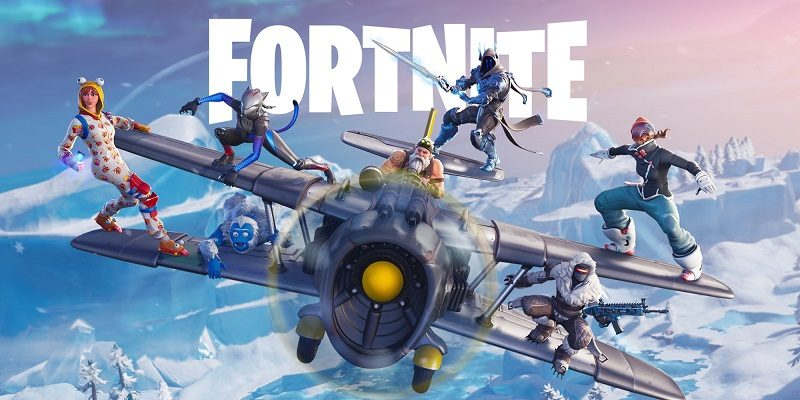 Fortnite (Switch): Software updates (launch to December 2018