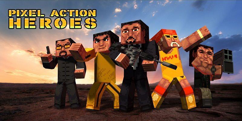 Pixel Action Heroes
