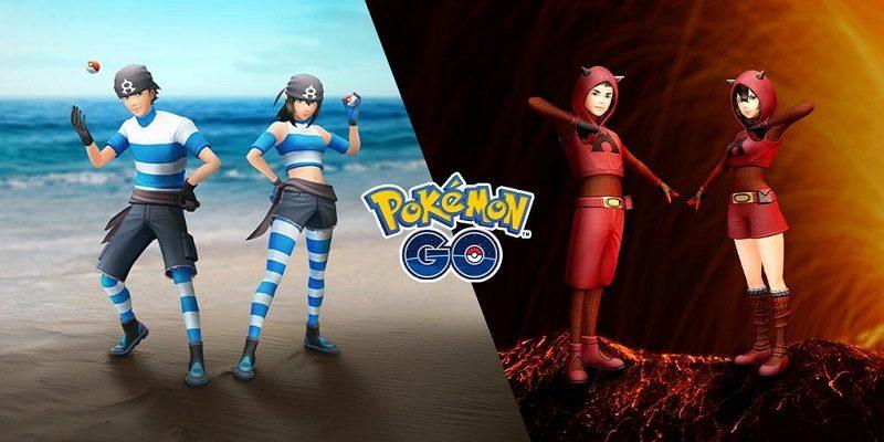 Pokémon GO Aqua Magma