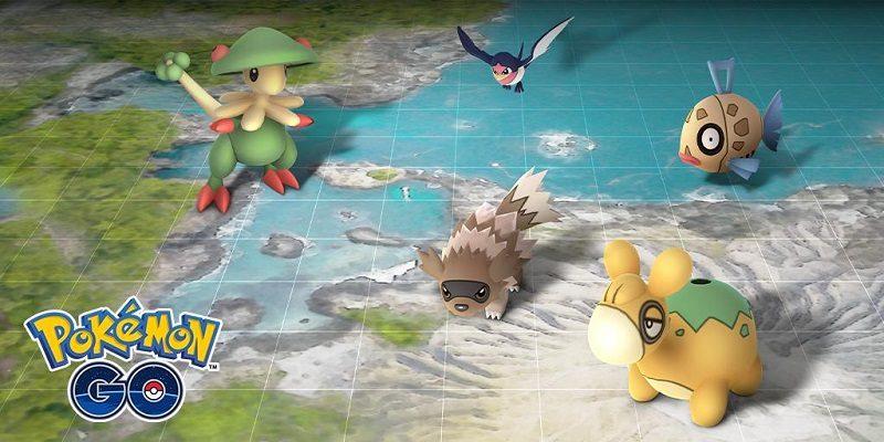 Pokémon Go Hoenn event