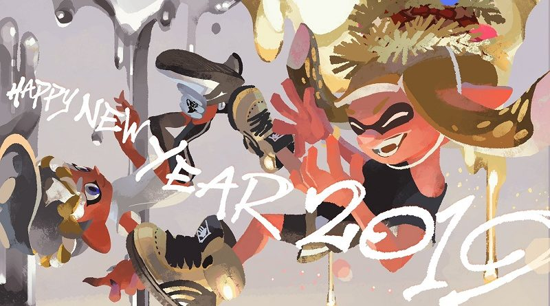 Splatoon 2 New Year