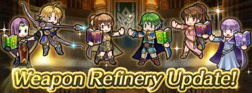 Fire Emblem Heroes Weapon Refinery March 2019