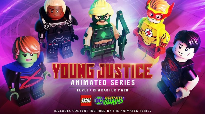 LEGO DC Super-Villains Young Justice