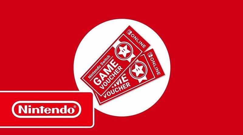 Nintendo Switch Online Nintendo Switch Game Vouchers