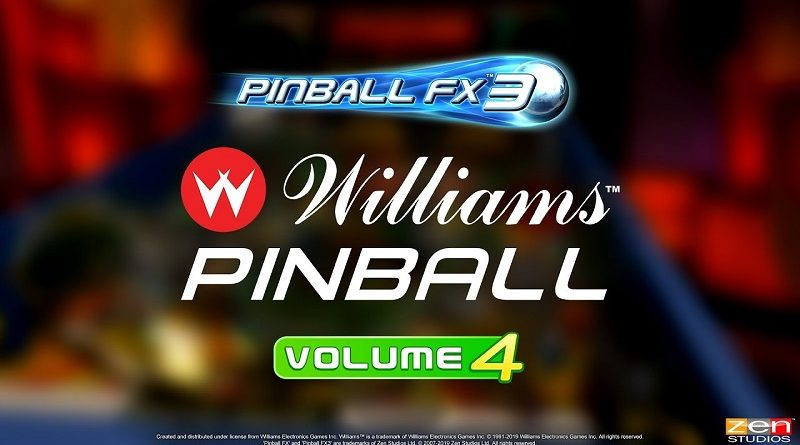 Pinball FX3: Williams Pinball Vol. 4
