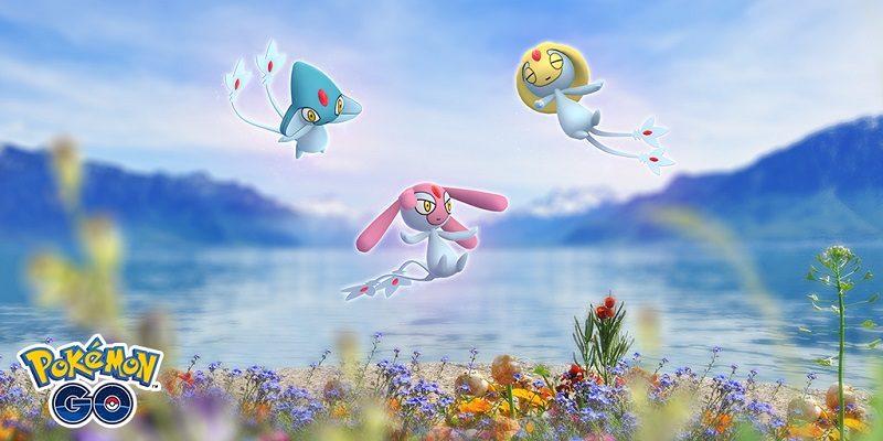 Pokémon GO news (May 3): Uxie, Mesprit, and Azelf / Pokémon GO Fest
