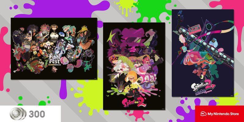 My Nintendo Splatoon 2 Posters