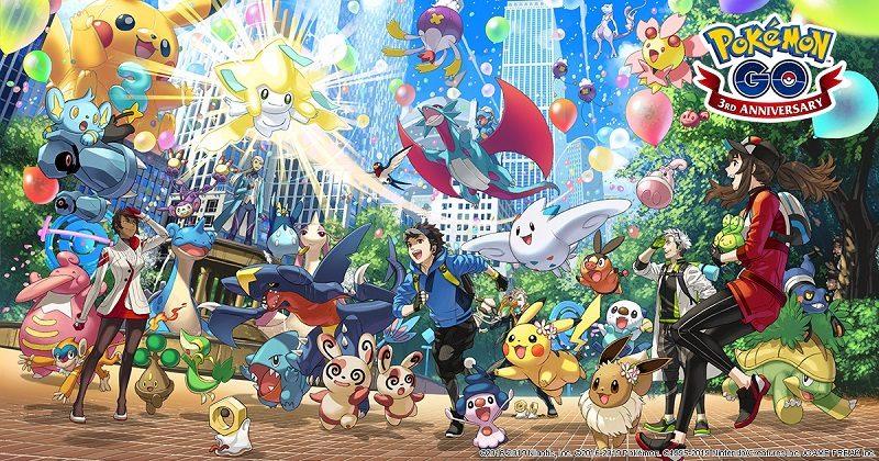 Pokémon GO Anniversary 3