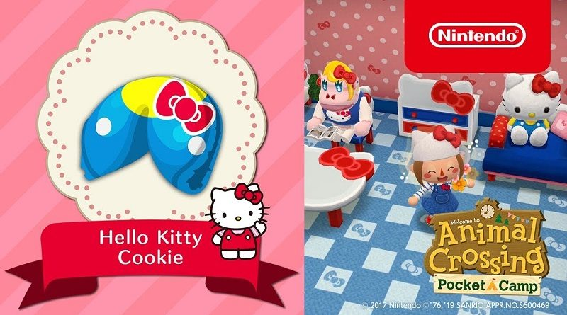 Animal Crossing: Pocket Camp Hello Kitty