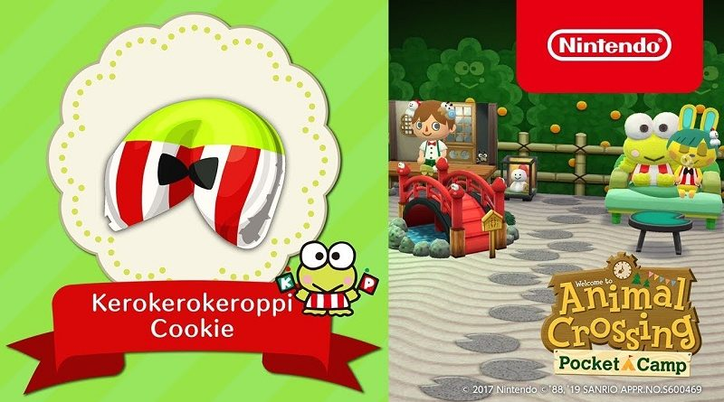 Animal Crossing; Pocket Camp Kerokerokeroppi