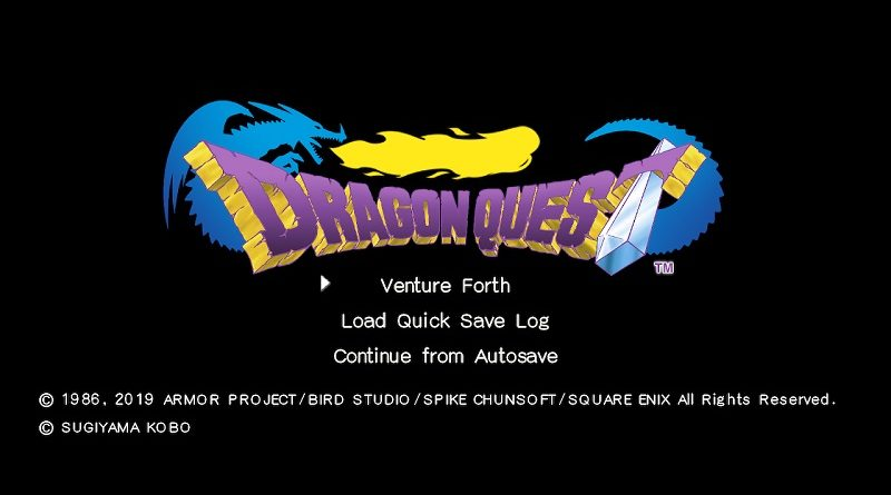Dragon Quest Trilogy