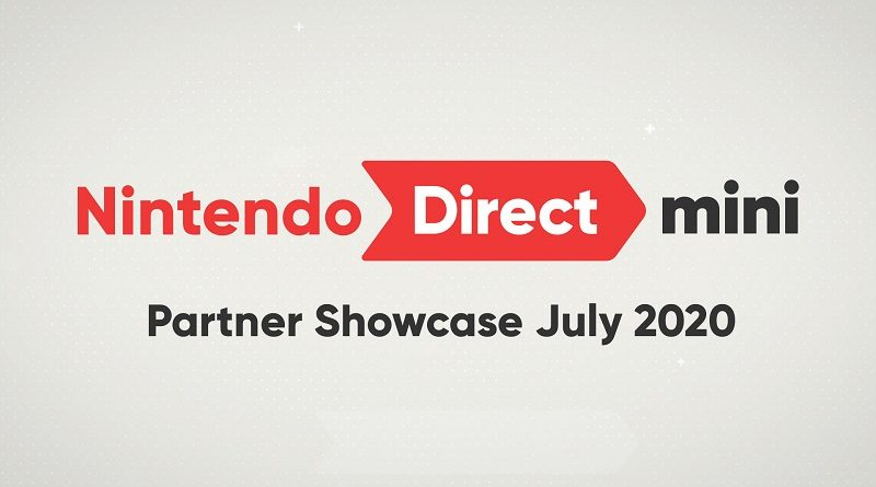 Nintendo Direct Mini Partner Showcase July 2020
