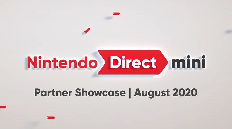Nintendo Direct Mini - Partner Showcase August 2020
