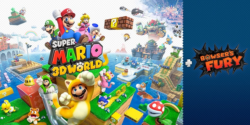 Super Mario 3D World + Bowser's Fury