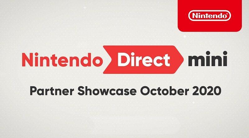 Nintendo Direct Mini - Partner Showcase October 2020
