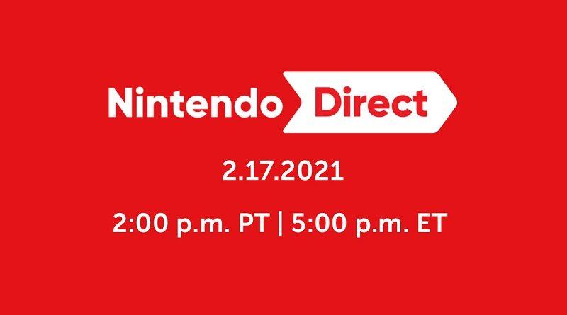 Nintendo Direct 17-2-2021