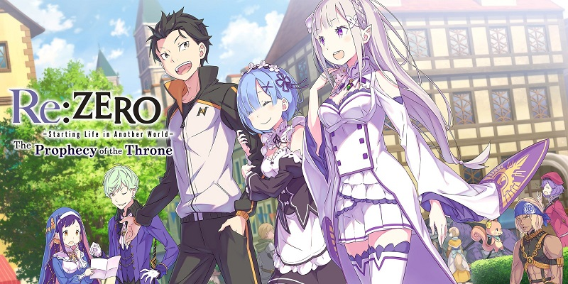Re:Zero -Starting Life in Another World- The Propechy of the Throne