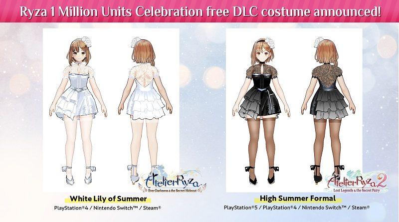 Atelier Ryza costumes