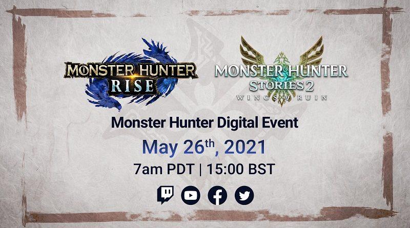 Monster Hunter Digital Event May 2021
