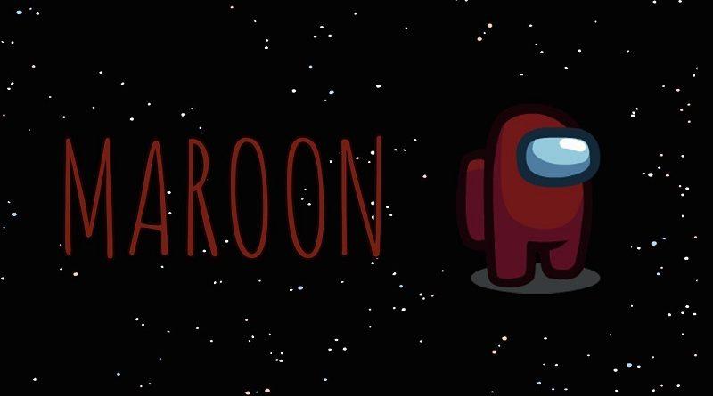 Among Us Maroon