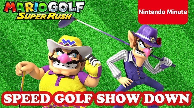Mario Golf: Super Rush Nintendo Minute