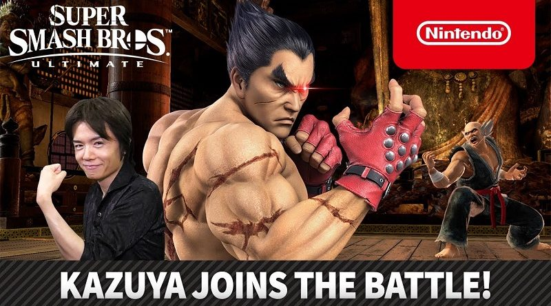 Super Smash Bros Ultimate Kazuya