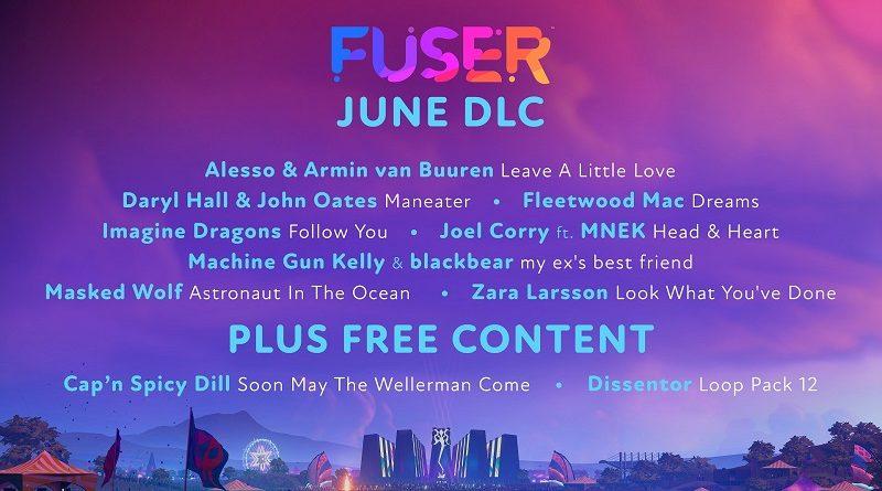 FUSER DLC June