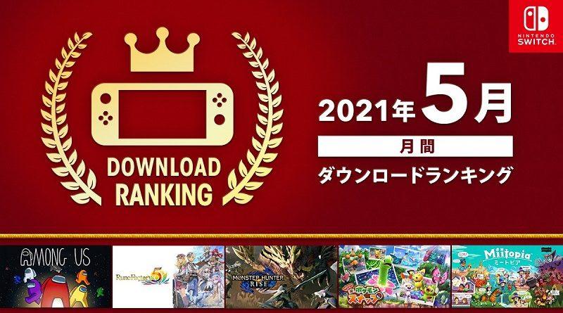 Nintendo eShop Top May 2021