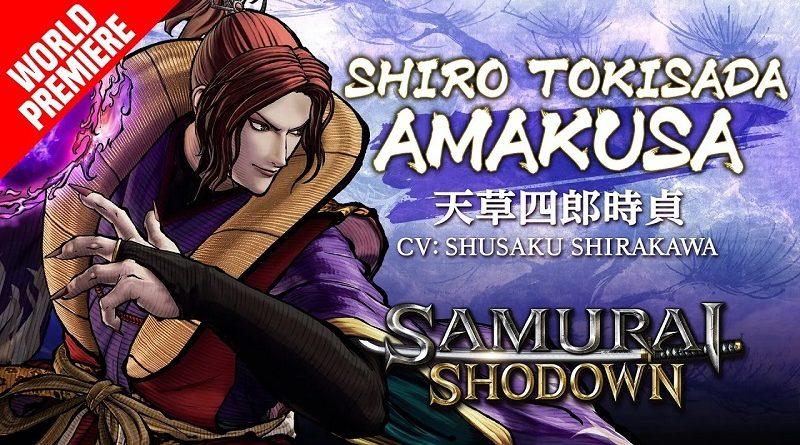 Samurai Shodown Shiro Tokisada