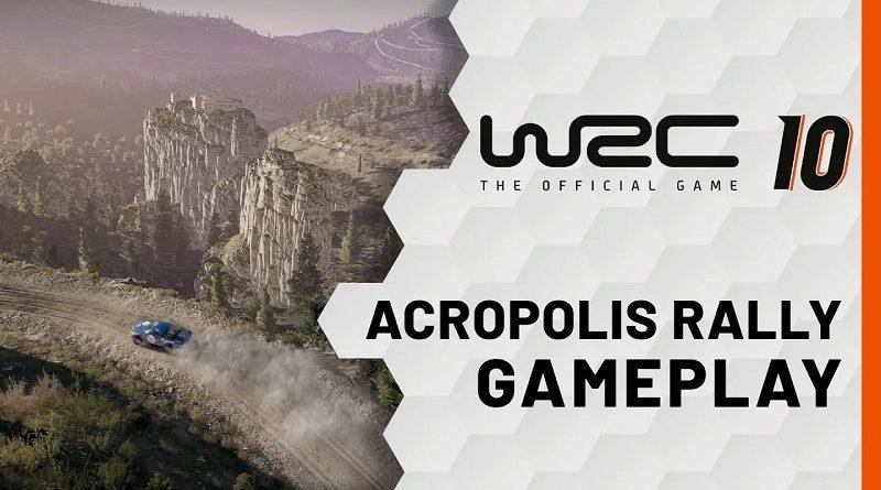 WRC 10 Acropolis