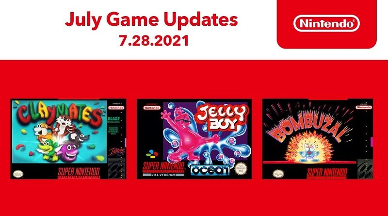 SNES NSO July 2021