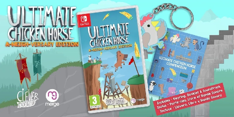 Ultimate Chicken Horse retail