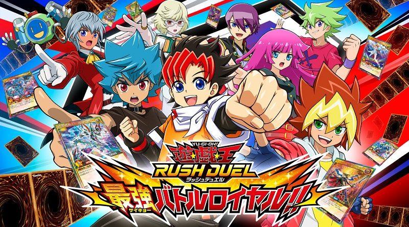 Yu-Gi-Oh Rush Duel Saikyou Battle Royale!!