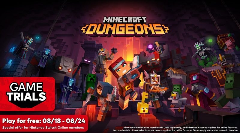 Minecraft Dungeons NSO