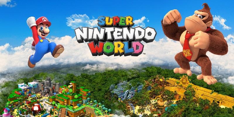 Super Nintendo World DK