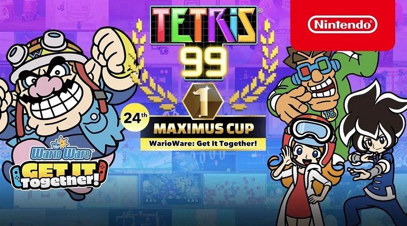 Tetris 99 WarioWare
