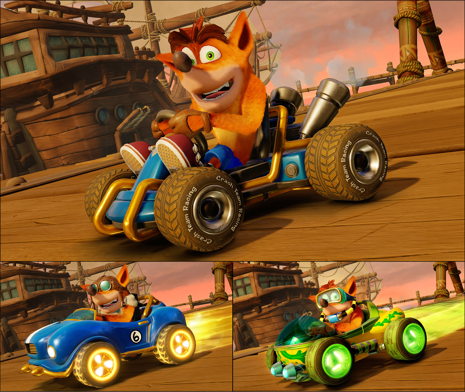 Daily news (May 10, Round 3): Crash Team Racing Nitro-Fueled