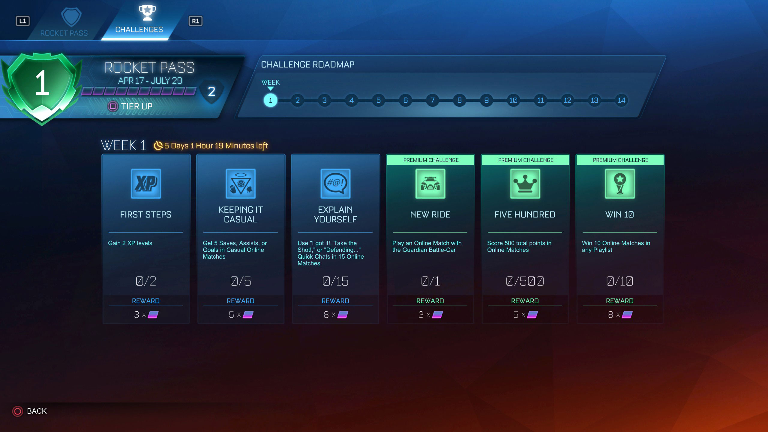 Rocket League: Software updates (latest: Ver  1 66