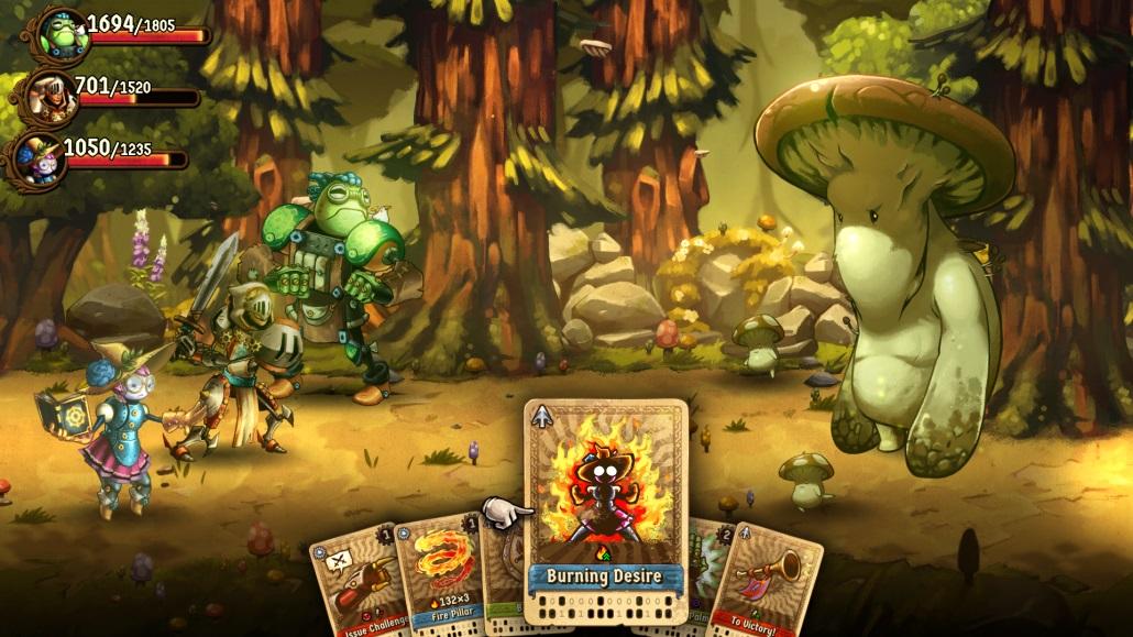 eShop news (Jan  24, Round 3) - SteamWorld Quest: Hand of