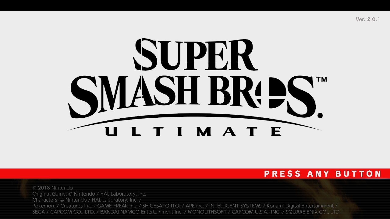 Super Smash Bros  Ultimate (Switch): Software updates (Ver  4 0 0